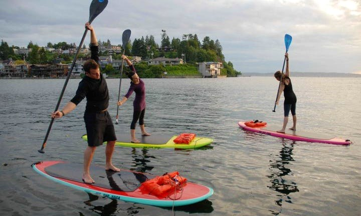Stand Up Paddleboard Lessons  in Seattle