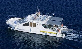 46' Power Catamaran Charter in Punat