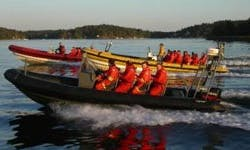 Top Speed Jet Boat Tours for 12 Passengers in Stockholm, Sweden