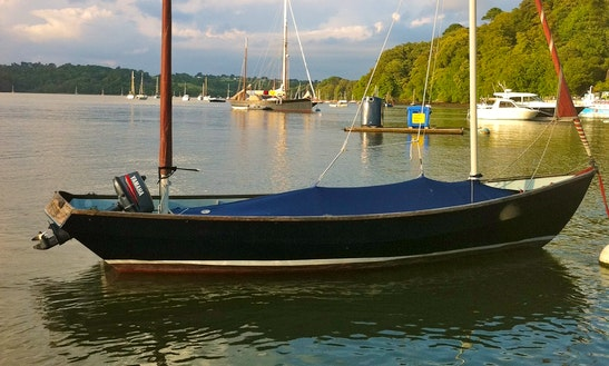 19' Drascombe Lugger Dinghy Hire In Dittisham
