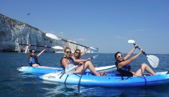 Kayak Delights In Swanage
