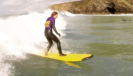 Surf Lessons With Our Experienced Instructors In Newquay, England