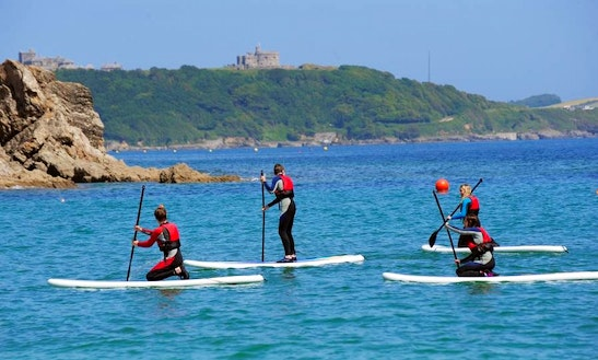 Hourly And Daily Paddleboard Hire And Lesson In Newquay, England