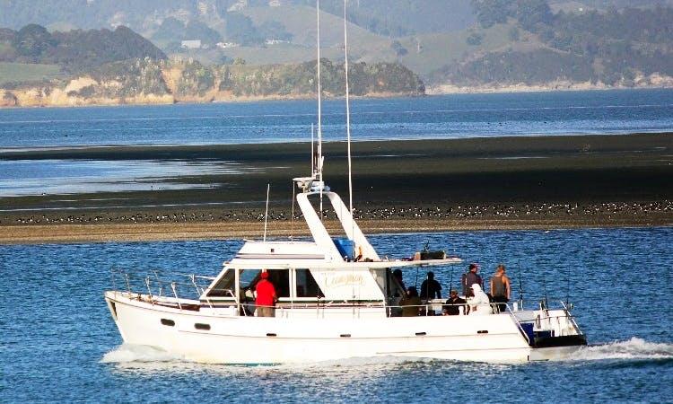 """45' """"Clansman"""" Trawler fishing charter in Te Awamutu, New Zealand"""