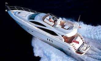 Charter Sunseeker Manhattan 60 Power Mega Yacht in Phuket, Thailand