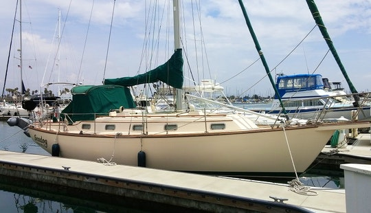 Island Packet Sloop Charter In Oxnard