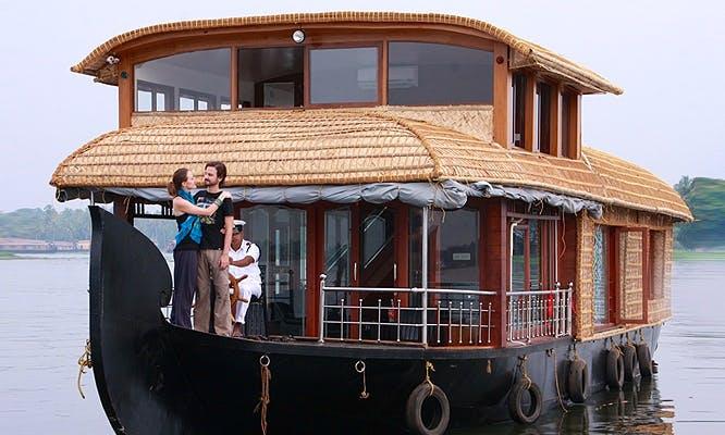 Kerala Houseboat Cruise for 20 Person in Alappuzha Kerala