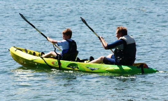 Double Sit On Top Kayaks Hire In England