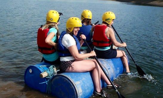 Raft Building In Minehead