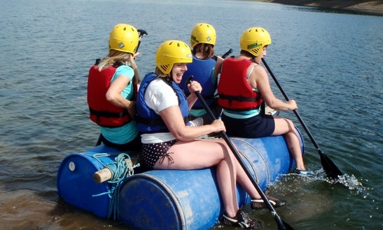 Raft Building In Minehead