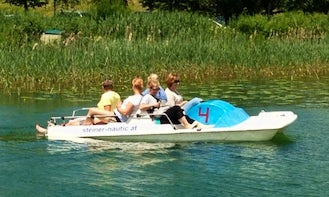 Paddle Boat for Rental in Mattsee