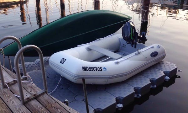 9ft West Marine Ru3 RIB Rental in Annapolis, Maryland