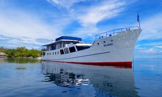 125' Steel Hull Dive Liveaboard, Honiara, Solomon Islands