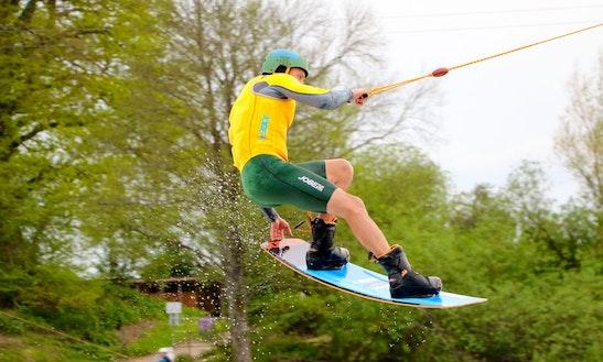 Enjoy Wakeboarding Courses In Fordingbridge, England