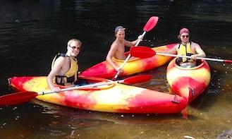Single Kayak Tours in Kangaroo Valley
