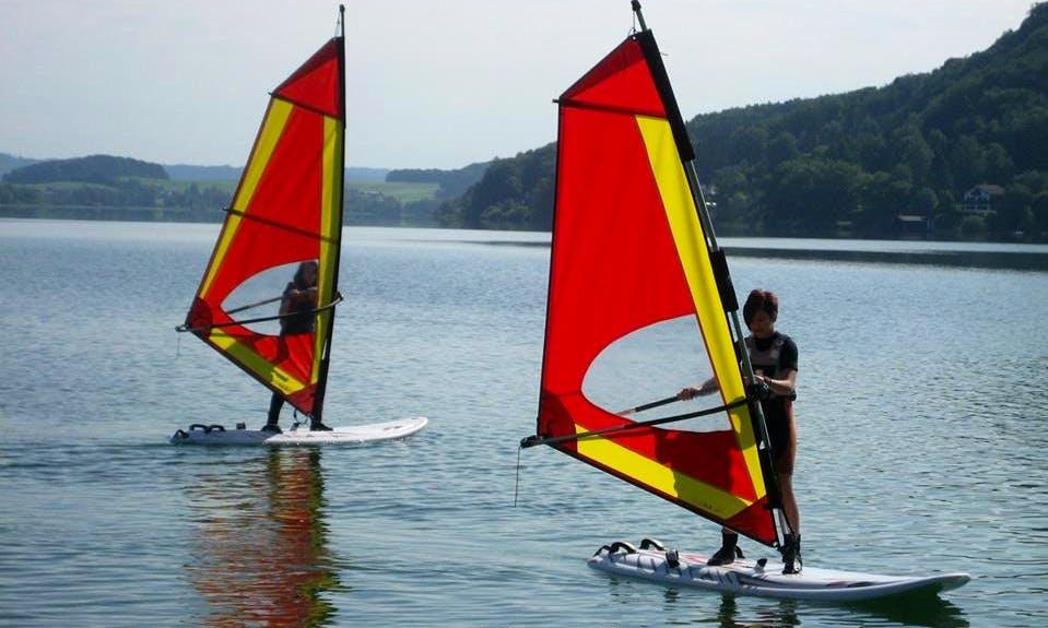 Exciting Windsurfing Rental in Mattsee