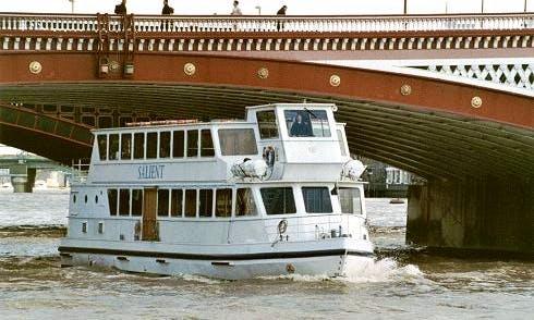 """""""MV Salient"""" Party Boat Rental in London, England"""