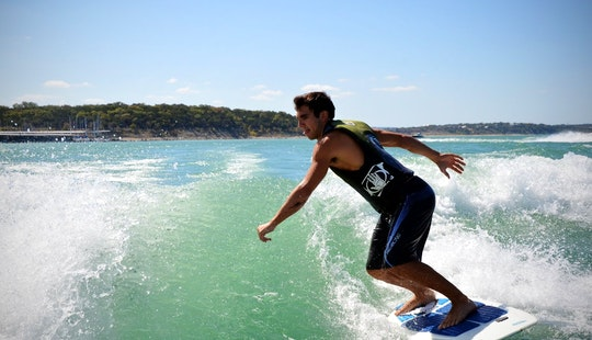Wakesurfing In Mytchett