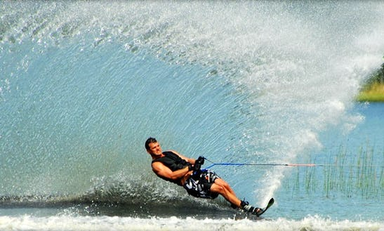 Water Skiing In Mytchett
