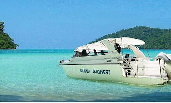 Motor Yacht Rental At Koh Phayam Island, Ranong, Thailand