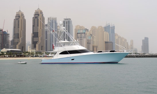 Dubai Fishing Charter On Viking 45 Sportfisher Yacht