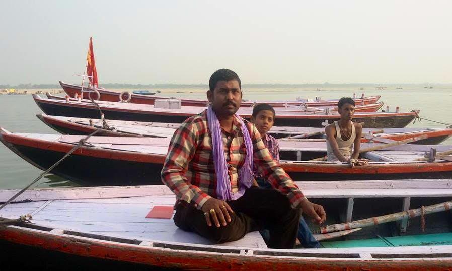 River Cruise in Varanasi, India