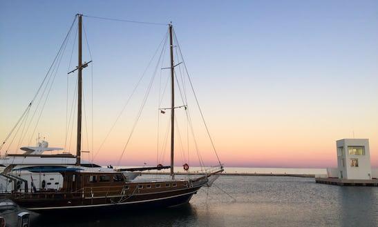 Gulet Sleep Aboard Rental In Manfredonia