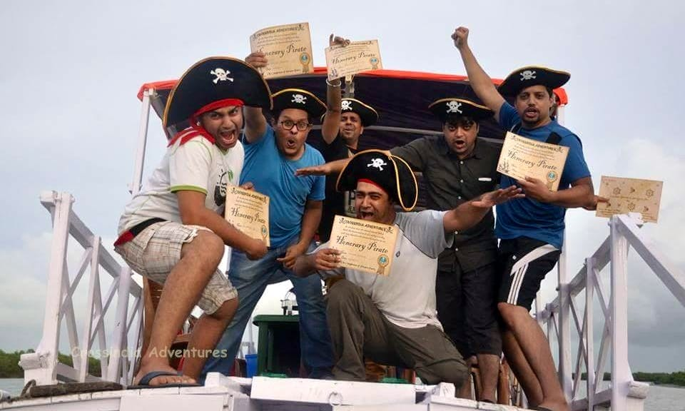 2 Days and 1 Night Pirates Party in Kolkata, India