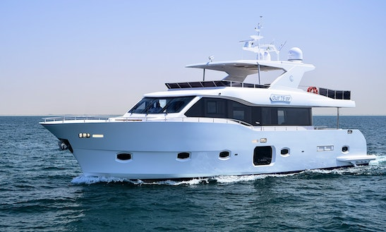 Charter The Majesty 75 Power Mega Yacht In Dubai, Uae