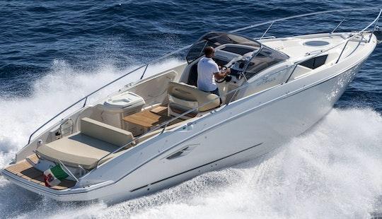 Charter 30' Cranchi Endurance Motor Yacht In Domaso, Italy