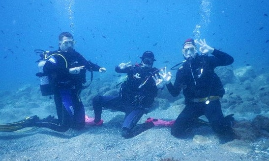Diving Trips And Courses In Benalmadena