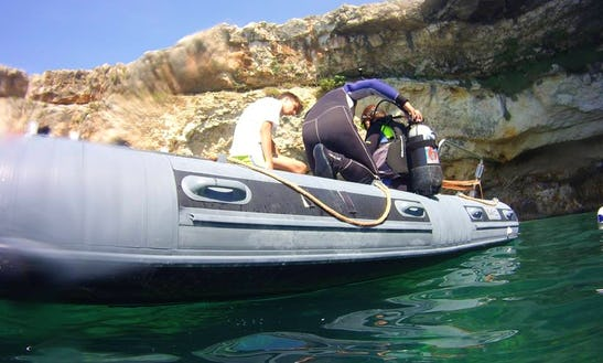 Reserve The Rib Bwa 740 Diving Trips And Courses In Morciano Di Leuca, Italy