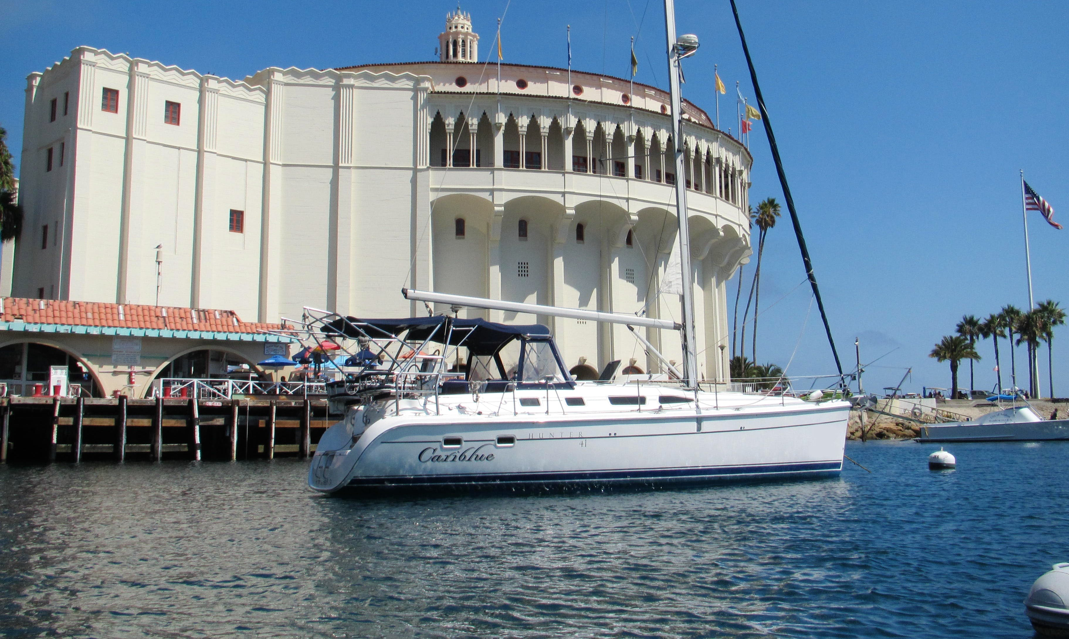 "Rent the ""Cariblue"" Hunter 41 Yacht in Marina Del Rey"
