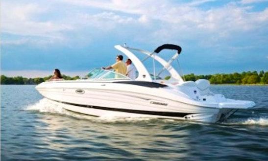 Azure 298 Deck Boat Rental In Santa Eulària Des Riu