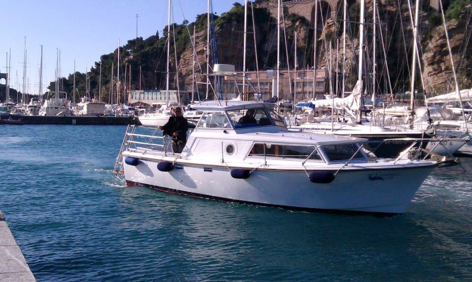"Book ""Lady M"" Cruiser Diving Trips in Alassio, Italy"
