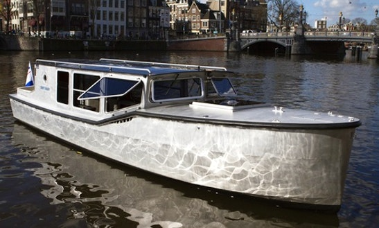 Electric Boat Charter In Amsterdam, Netherlands