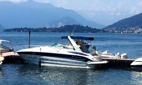 Rent 28' Crowline Cuddy Cabin Boat In Sesto Calende, Italy