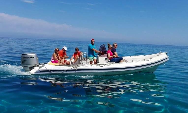 Boat Excursion in Orosei