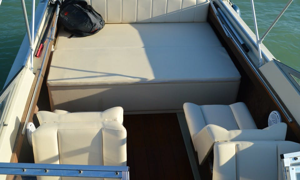 Electric Boat for Rent in Siófok without License