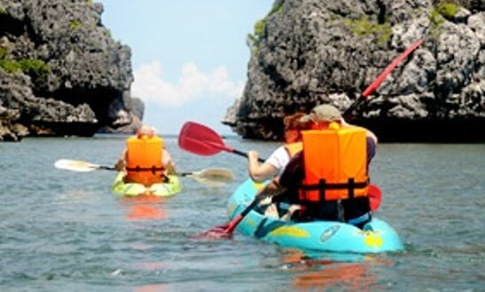 Kayak Trips In Phuket