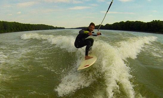 Wakeboarding In Bratislava