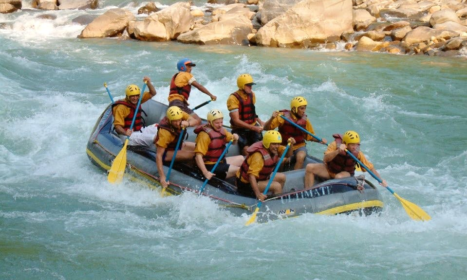 Experience the Rush with the 8 Person Rafting Trip in Kathmandu, Nepal
