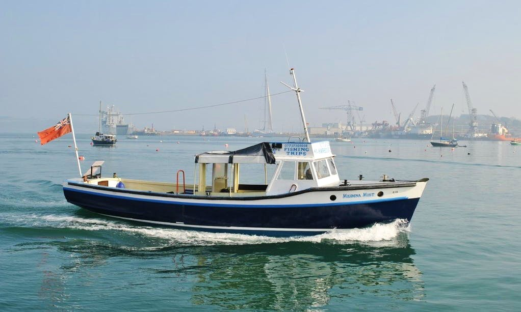 """Medina Mist"" Boat Fishing Trips in Falmouth"