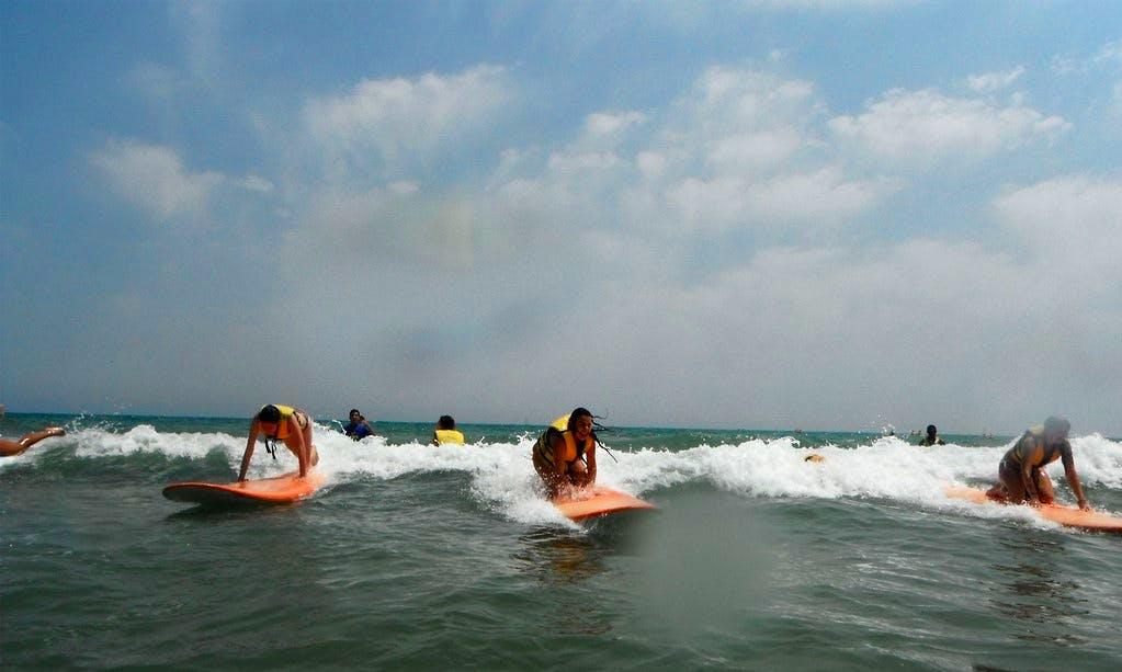 Surfing Lessons in Grau i Platja