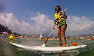 Paddleboard Lessons in Grau i Platja