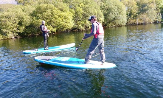 Stand Up Paddleboarding Trips In Llanberis Wales