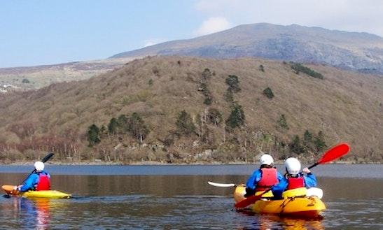 Sea Kayaking Tours In Llanberis Wales