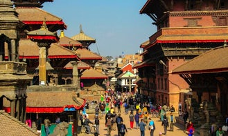 Book a  Kathmandu City Tour for up to 6 person!