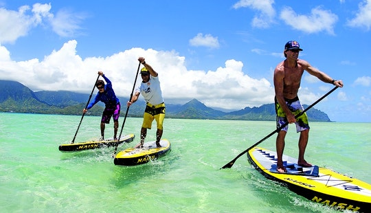 Enjoy Stand Up Paddleboarding And Courses In Noumea, New Caledonia