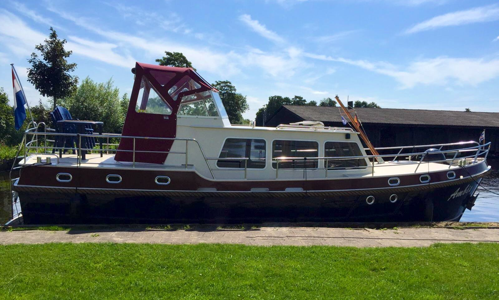 Enjoy Friesland, Netherlands on 36' Ambis Motor Yacht